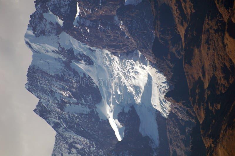Montañas 5 de los Andes fotografía de archivo libre de regalías