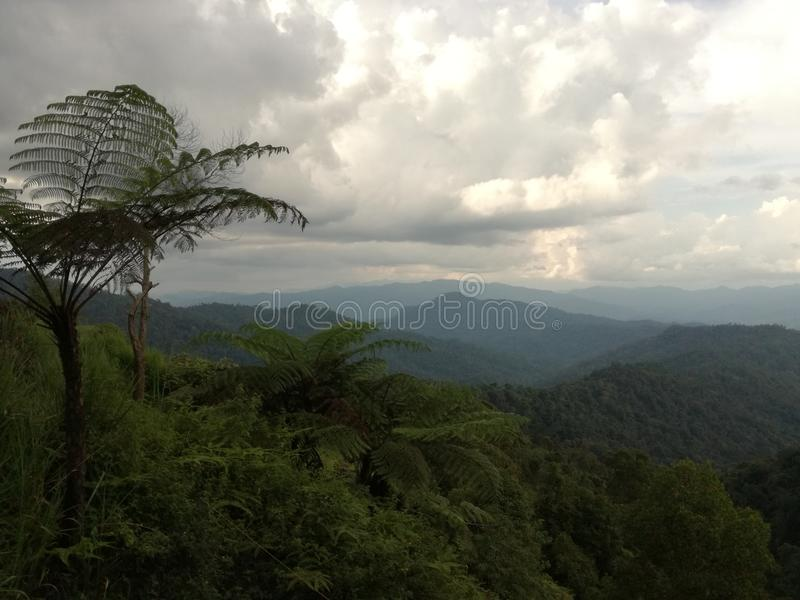 Montañas imagen de archivo