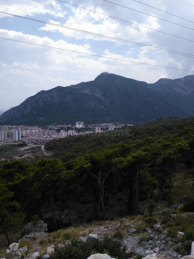 Montañas agradables foto de archivo libre de regalías