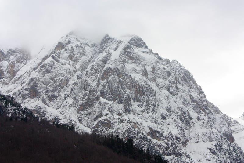Montañas albanesas foto de archivo libre de regalías