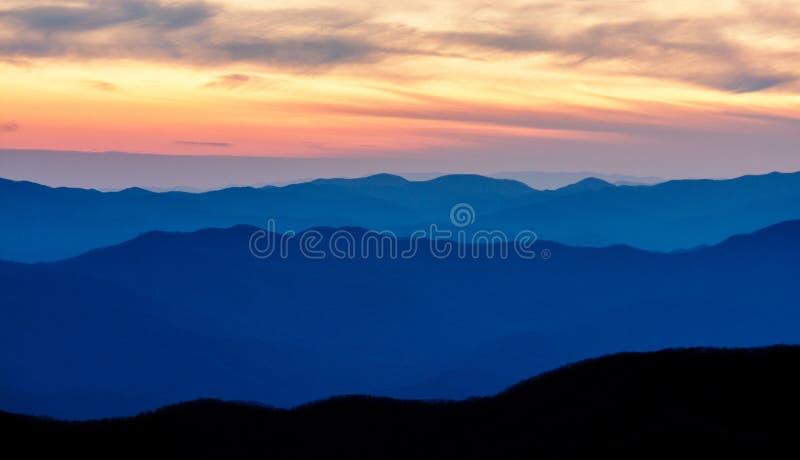 Montañas apalaches imagen de archivo libre de regalías