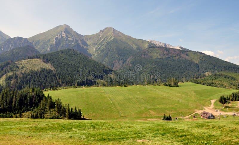 Montañas - Belianske Tatras, Eslovaquia, Europa fotografía de archivo libre de regalías