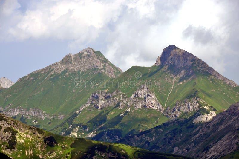 Montañas - Belianske Tatras, Eslovaquia, Europa fotos de archivo