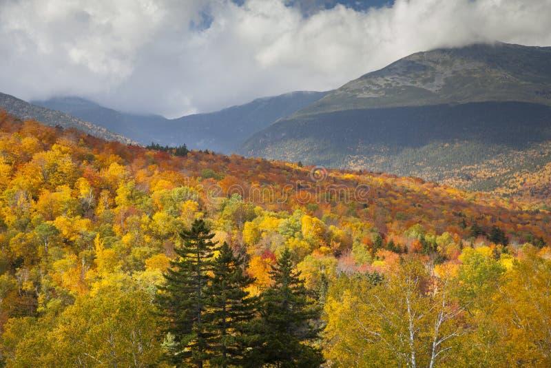 Montañas blancas de New Hampshire fotos de archivo libres de regalías