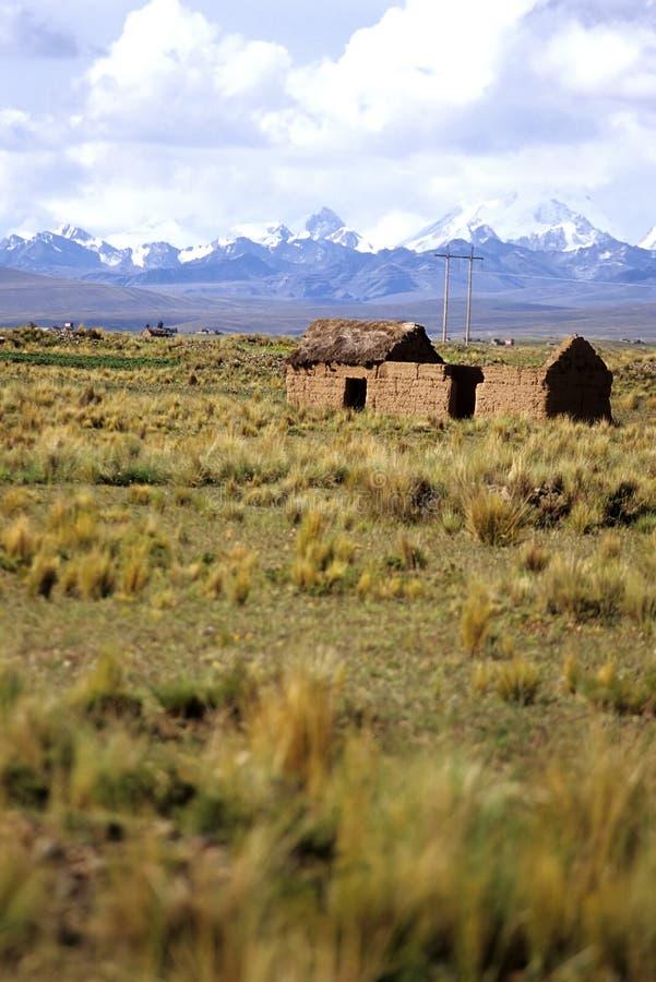 Montañas Bolivia foto de archivo