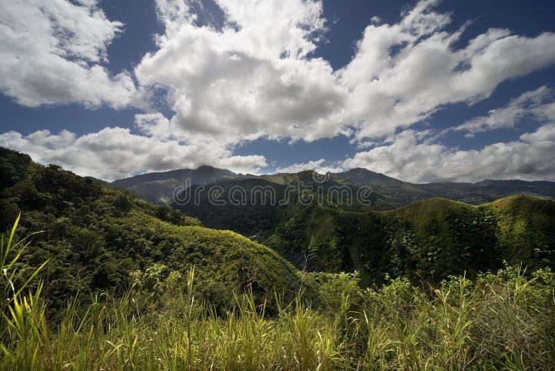 Montañas, colinas, prado imagen de archivo libre de regalías