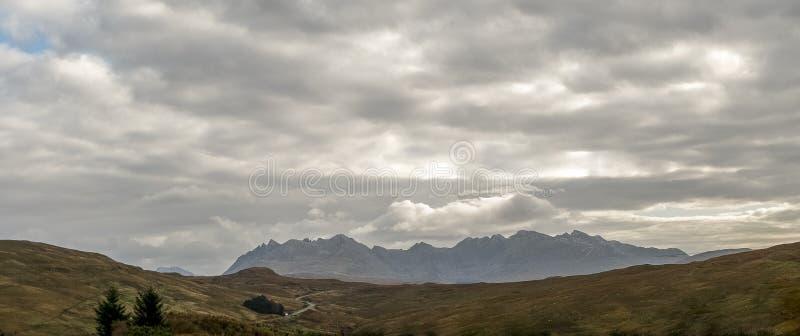 Montañas Cullins fotos de archivo