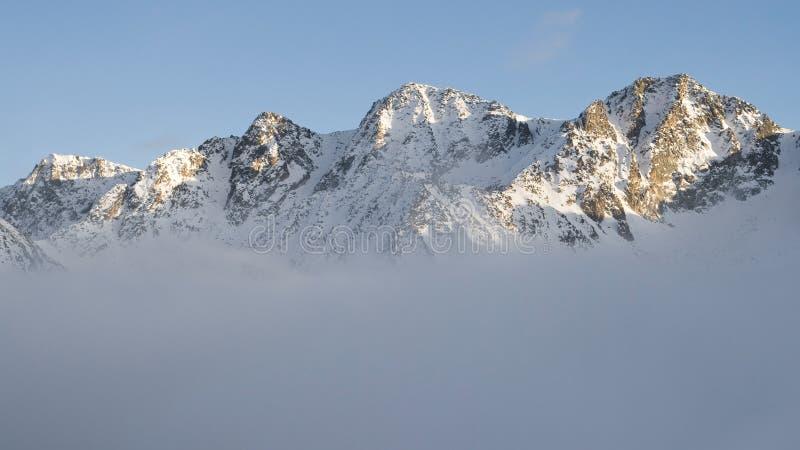 Montañas de Andorra imágenes de archivo libres de regalías
