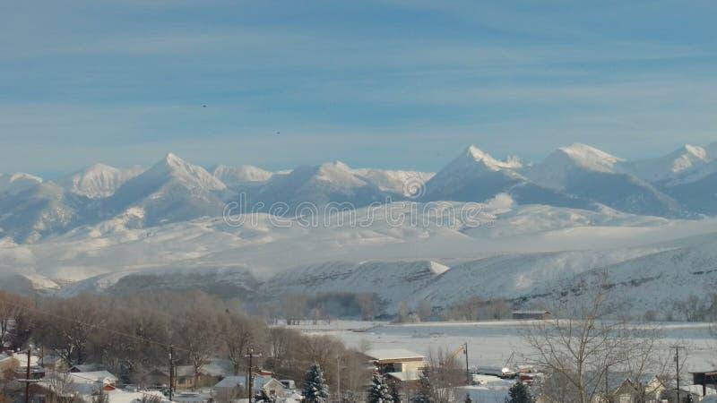 Montañas de Beaverhead imágenes de archivo libres de regalías