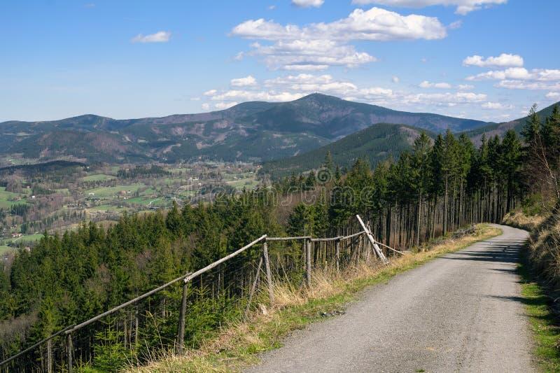 Montañas de Beskid fotos de archivo