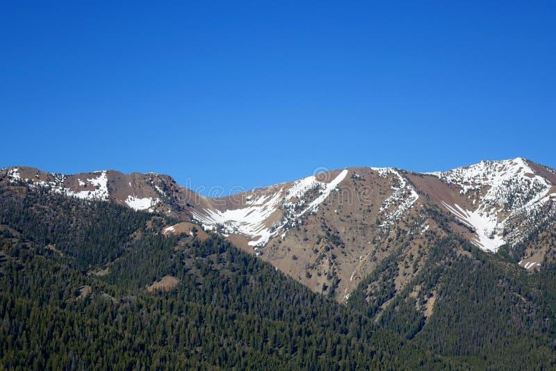Montañas de Boulder - Idaho fotografía de archivo