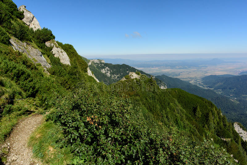Montañas de Bucegi fotos de archivo