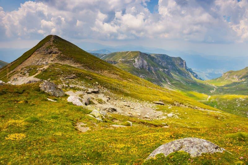 Montañas de Bucegi, Rumania foto de archivo