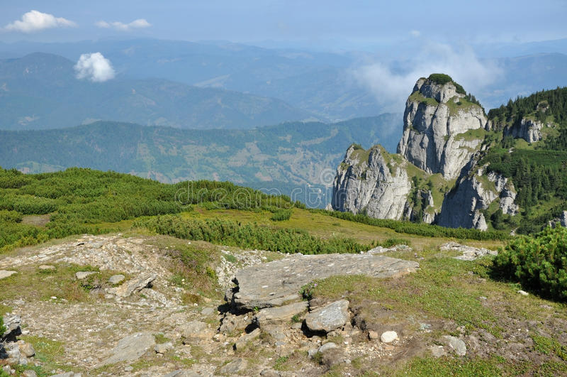 Montañas de Ceahlau, Rumania fotos de archivo libres de regalías