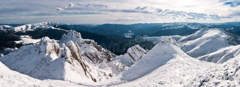 Montañas de Ciucas foto de archivo