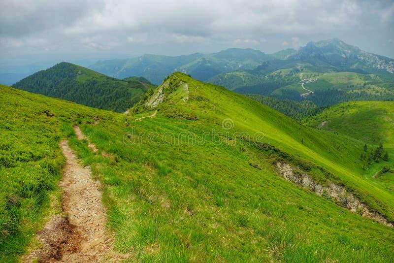 Montañas de Ciucas en Rumania imágenes de archivo libres de regalías