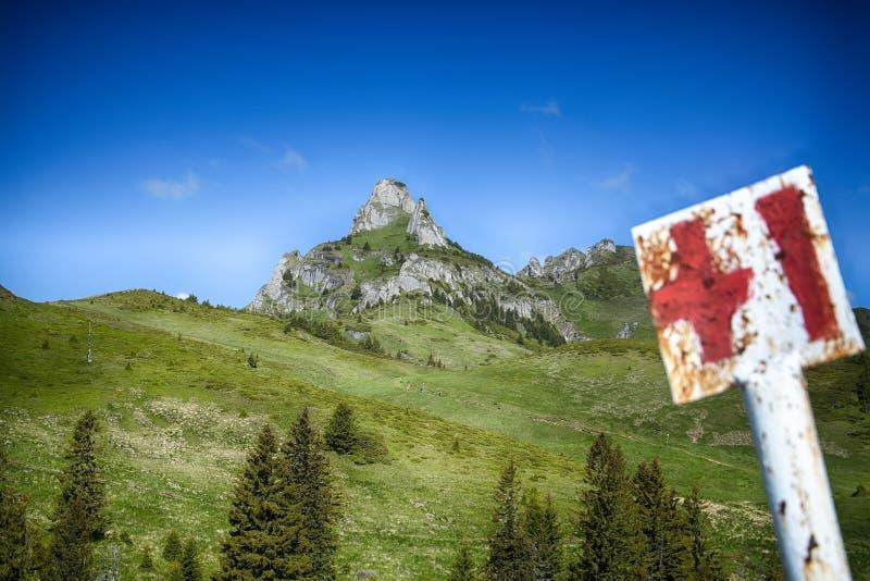 Montañas de Ciucas, Rumania foto de archivo libre de regalías
