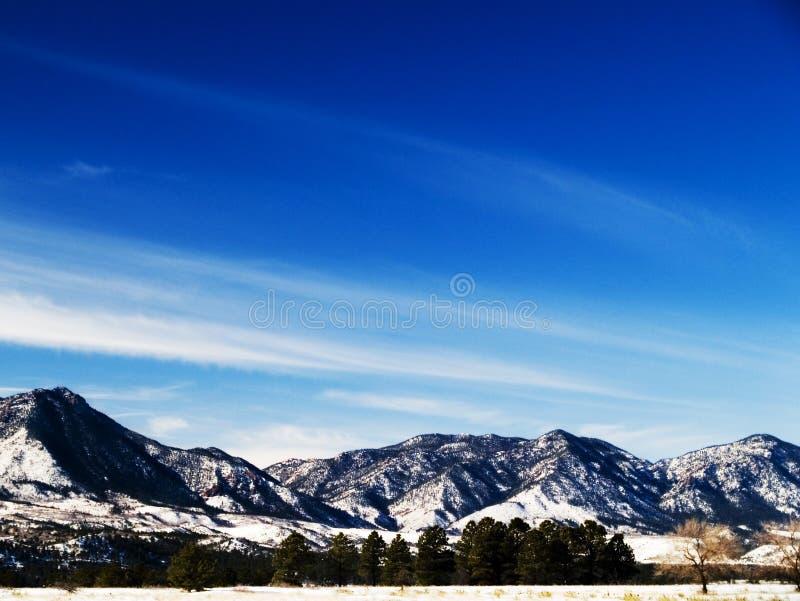 Montañas de Colorado fotografía de archivo