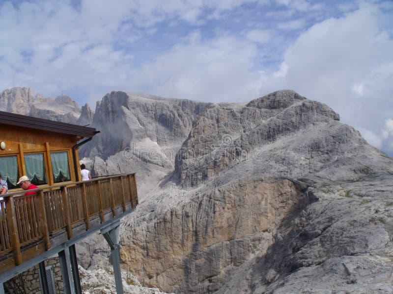 Montañas de Dolomity fotografía de archivo libre de regalías
