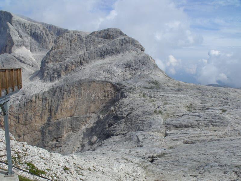 Montañas de Dolomity foto de archivo