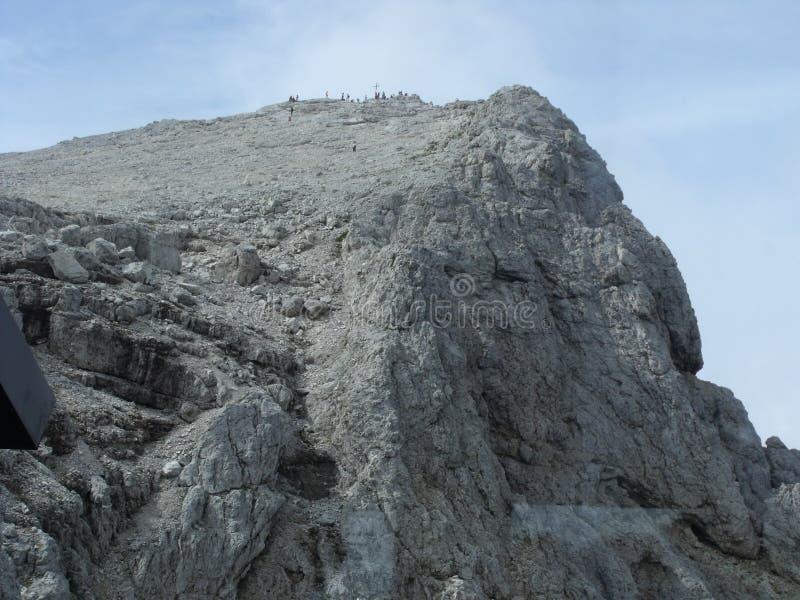 Montañas de Dolomity fotos de archivo libres de regalías