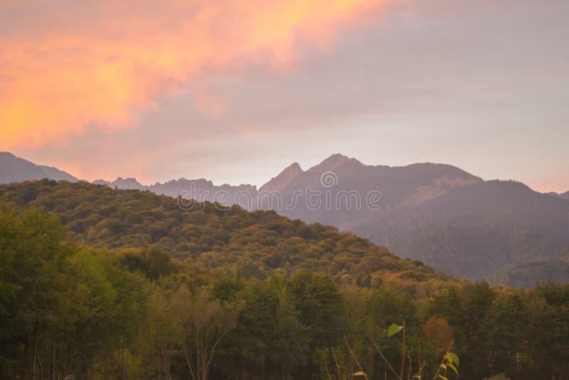 Montañas de Fagaras imágenes de archivo libres de regalías