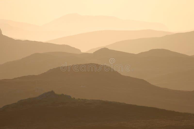 Montañas de Harris fotografía de archivo libre de regalías