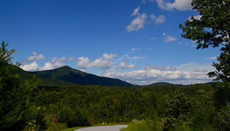 Montañas de Helen, GA fotografía de archivo