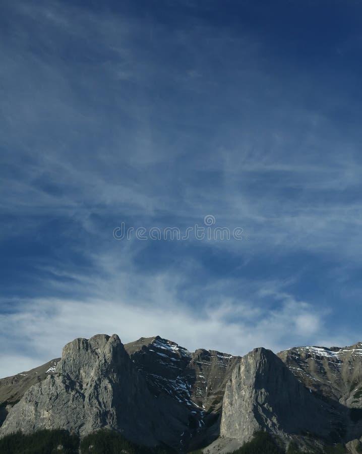 Montañas de Kananaskis imagen de archivo