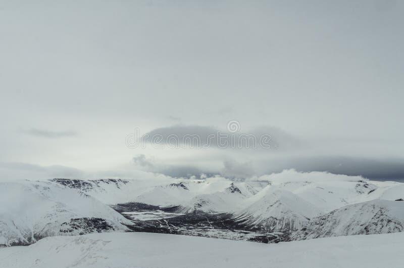 Montañas de Khibiny foto de archivo libre de regalías