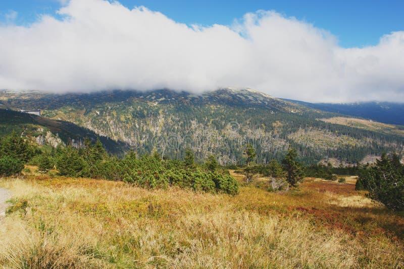 Montañas de Krkonose, República Checa fotos de archivo