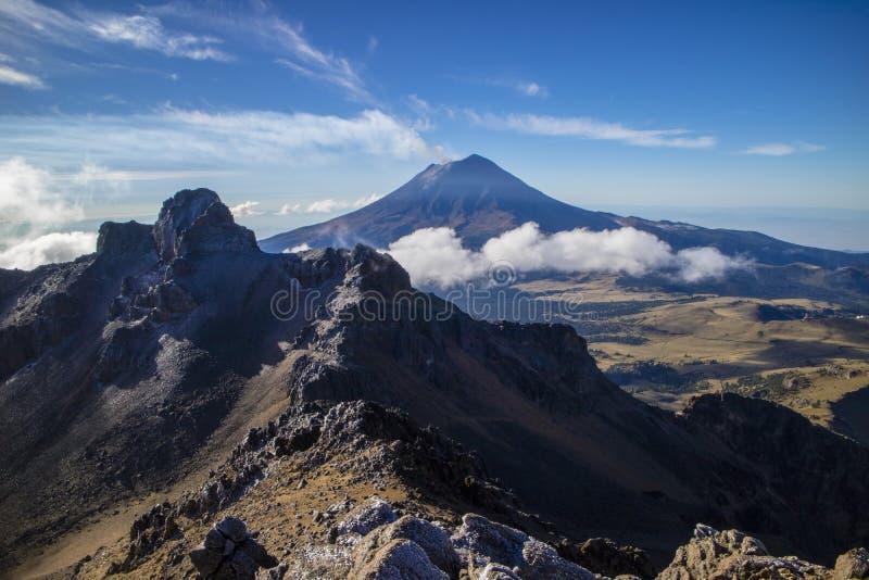 Montañas de la aventura de México fotografía de archivo libre de regalías