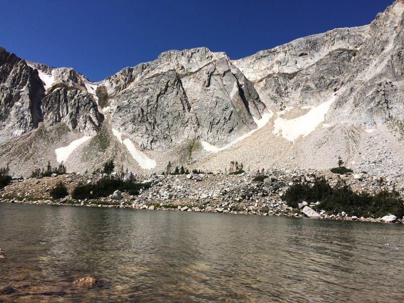 Montañas de la gama Nevado, WY imagen de archivo libre de regalías