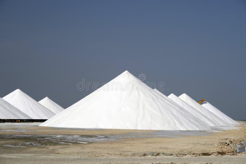 Montañas de la sal foto de archivo libre de regalías