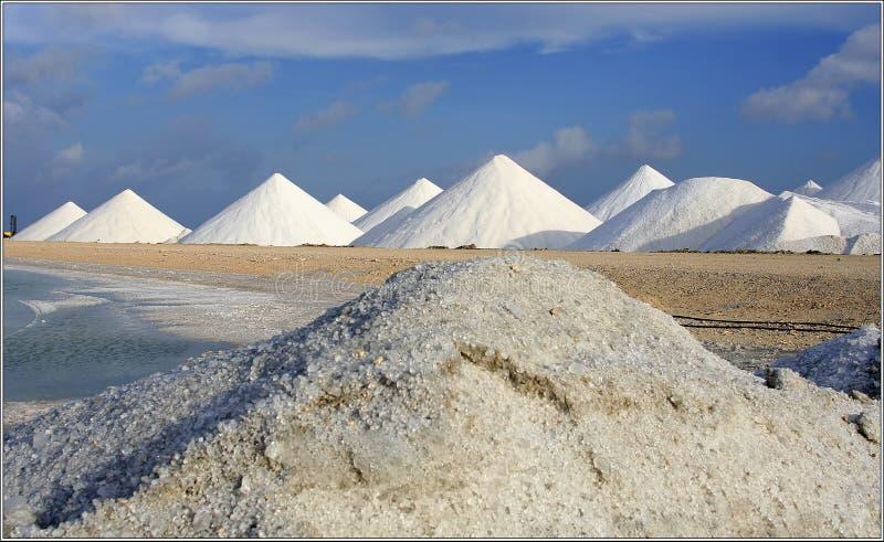 Montañas de la sal fotos de archivo libres de regalías
