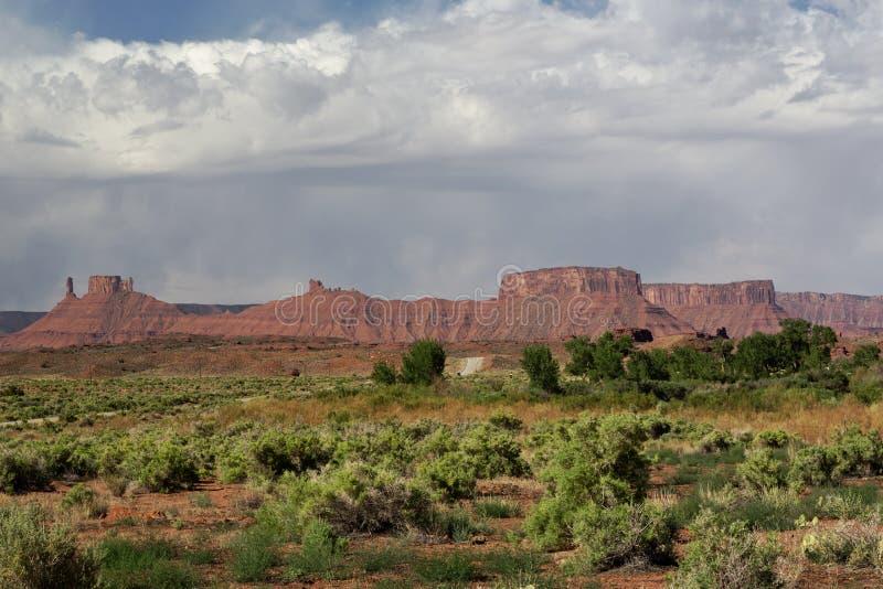 Montañas de la sal del La de Utah foto de archivo libre de regalías