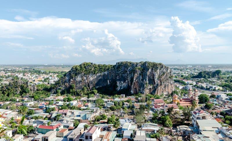 Montañas de mármol, Danang Vietnam mayo de 2016 imágenes de archivo libres de regalías