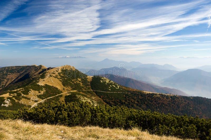 Montañas de Mala Fatra, Eslovaquia imágenes de archivo libres de regalías