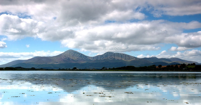 Montañas de Mourne imagen de archivo libre de regalías