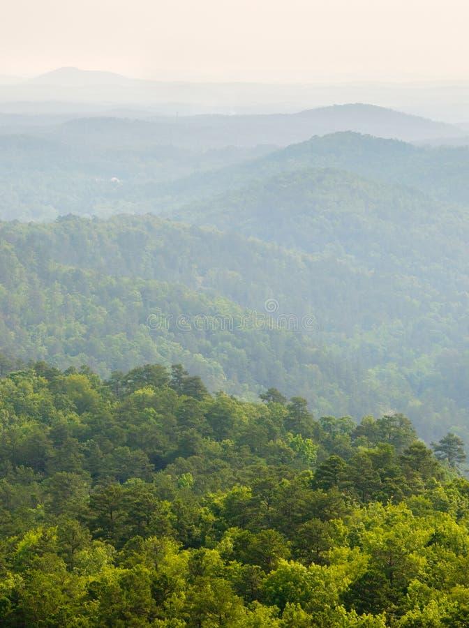 Montañas de Ouachita imagen de archivo
