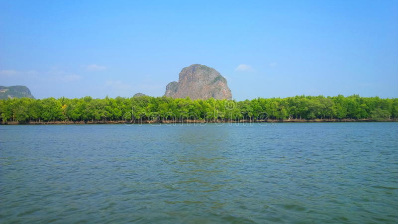 Montañas de Phuket imagen de archivo