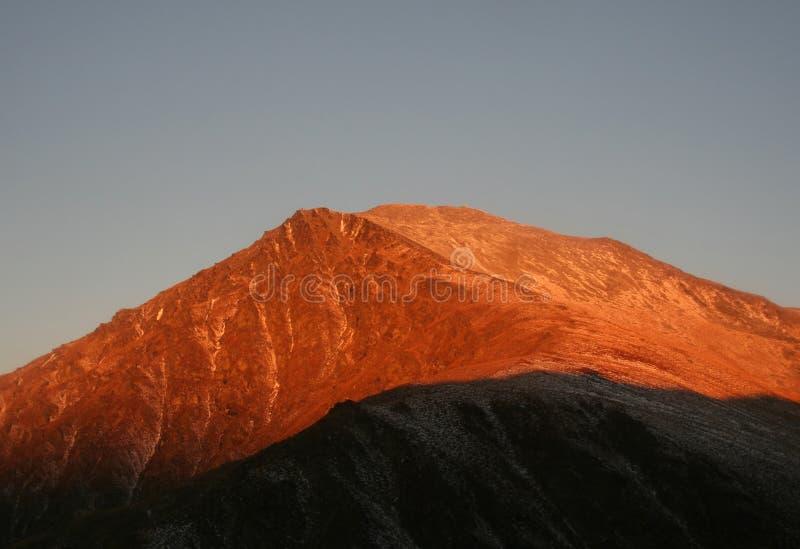 Montañas de Remarkle foto de archivo libre de regalías