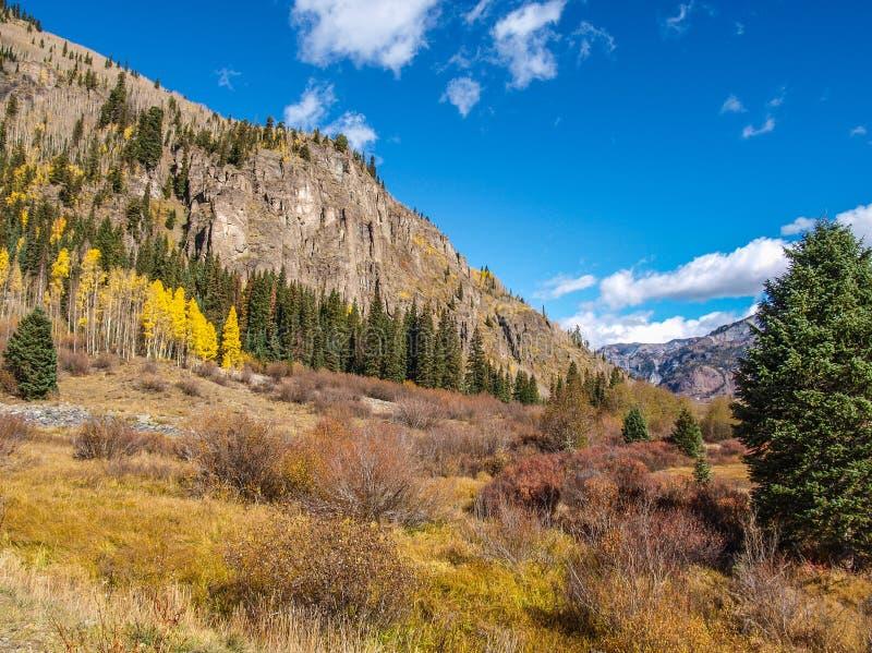 Montañas de San Juan en Colorado imágenes de archivo libres de regalías