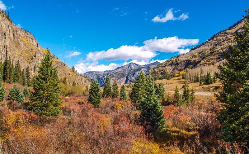 Montañas de San Juan en Colorado fotos de archivo