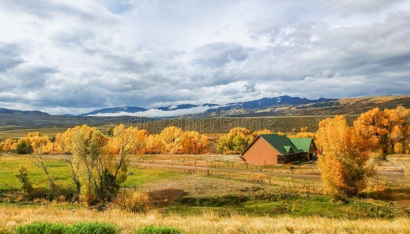 Montañas de San Juan en Colorado foto de archivo libre de regalías