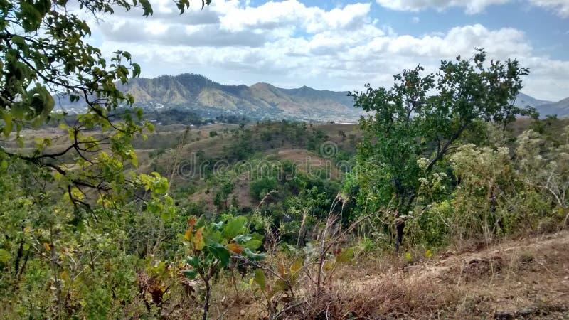 Montañas de San Juan de los Morros, Venezuela imagen de archivo libre de regalías