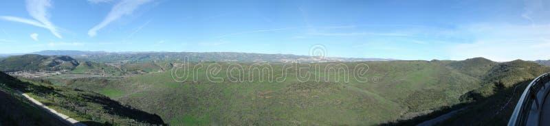 Montañas de Simi Valley, CA imagen de archivo libre de regalías