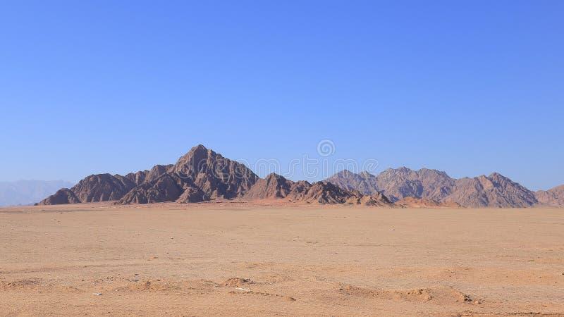 Montañas de Sinaí fotografía de archivo libre de regalías