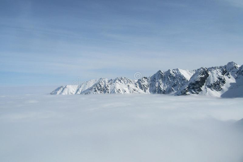 Montañas de Tatra, Polonia fotografía de archivo