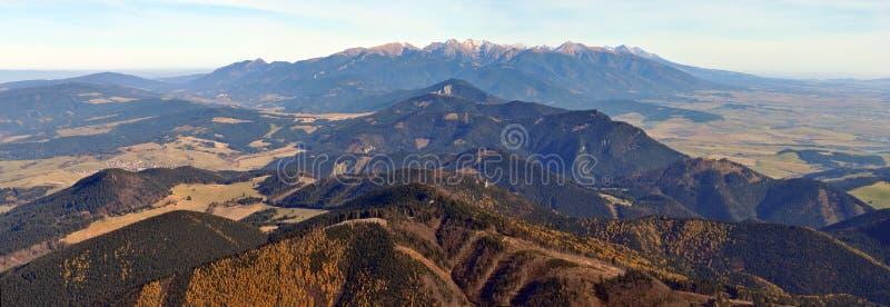 Montañas de Tatry imagen de archivo libre de regalías